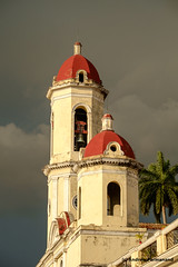 Bell Towers, Cienfuegos, Cuba (Andrew Parmanand) Tags: cuba cienfuegos bell bells tower belltower catedral cathedral immaculateconception