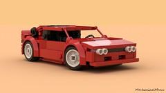 Lego Lancia 037 Stradale (MechanicalMenu) Tags: car lancia 037stradale italian rally motorsports red classic lego
