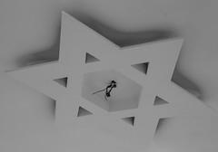 Star of David without Bulb (zeevveez) Tags: זאבברקן zeevveez zeevbarkan canon starofdavid bw עלון