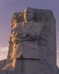 Martin Luther King Jr. Memorial (jtgfoto) Tags: approved washingtondc washington tidalbasin sunset dusk cityscape sonyimages sonyalpha light sunlight potomac potomacriver glow martinlutherkingjr memorial monument martinlutherkingjrmemorial evening sky