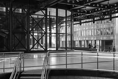 Exchange House (cybertect) Tags: broadgate carlzeissplanart50mmf14mm cityoflondon ec2 exchangehouse london londonec2 som skidmoreowingsandmerrill sonya7ii architecture blackwhite blackandwhite building monochrome stairs structure