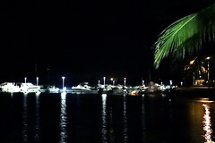 Boat port by night 🚤 (Lunetoile971) Tags: shadow caribbean sea night port boat