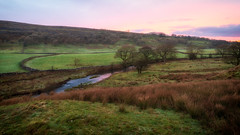 Yorkshire morning... (Lee Harris Photography) Tags: landscape sunrise countryside outdoor lumix g9 fields yorkshire england contrast morning december frost water river reflection