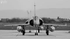 103-KN / 121 - Dassault Mirage 2000 C (Laurent Quérité) Tags: canonfrance canoneos7d canonef100400mmf4556lisusm avion aviation aéronef militaryaircraft armée de lair arméedelair noirblanc blackwhite monochrome frenchairforce ec112cambrésis ba115 orangecaritat lfmo france 103kn dassault mirage2000