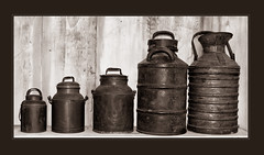 The Old Milk Cans (tvj21) Tags: antiques old milk cans louisiana lsururallifemuseum