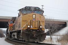 Straight Outta The 90's (recekasten) Tags: neenah wiscosin railroads trains cn up bnsf cefx railroading