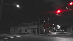 Quiet Time (3rd-Rate Photography) Tags: street intersection road city night sony a6300 jacksonville florida 3rdratephotography earlware 365
