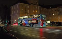 Berlin BVG Bus Werbung 22.12.2018 (rieblinga) Tags: berlin bvg werbung bus sparkasse 200 jahre 22122018 man doppeldecker