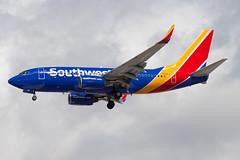 Southwest Airlines Boeing 737-700 N201LV (jbp274) Tags: las klas mccarran airport airplanes boeing 737 southwest wn