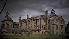 Within these walls! Lunatic Asylum at Denbigh Clwyd North Wales Walk 185 (Glenn Birks) Tags: lunatic asylum denbigh clwyd north wales uk ngc