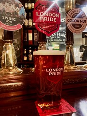 The Alpha and Omega of my London visits (st_asaph) Tags: euston thedoricarch realale londonpride fuller'slondonpride