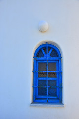 Blue window on typical house in Greece (phuong.sg@gmail.com) Tags: aegean ancient apartment architecture beam blue building colorful culture cyclades decoration design door eastern entrance europe flares france gate greece greek hotel island mediterranean middle old open outdoors religion santorini scenery shutters style sunny town travel view village vintage wall white window wood