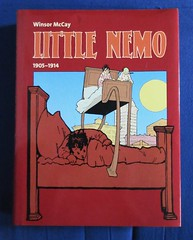 Winsor McCay Little Nemo 1905 to 1914 NYC 2475 (Brechtbug) Tags: winsor mccay little nemo 1905 1914 including later version running from 1924 1926 sunday funnies comic strip newspaper news paper color vaudville daily comics funny humor satire character characters clown clowns syndicate n slumberland windsor fantasy animation mccays the new york herald tribune papers cartoonist animator city 2019 nyc published 2000 evergreen taschen publication