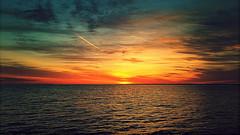 Sprawling Sunrise (Thought Knots Design) Tags: maritime grime nova scotia thought knots design photography lomo lomography sun sunrise trail sea ocean atlantic water shoreline horizon east coast cloud clouds cloudporn maritimes marine nautical