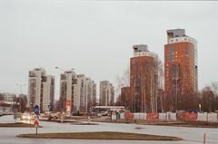March (ag.nessi) Tags: analog ricoh urban buildings kodak film filmphoto soviet minimalistic light riga