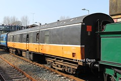 R.P.S.I. 3185 in Gorey. (Fred Dean Jnr) Tags: march2012 wexford dublinwicklowwexfordrailway iarnrodeireann irishrail sparelinkrailtour rpsi cravencoaches cravens railpreservationsocietyofireland gorey goreystationwexford 3185 generatorvan