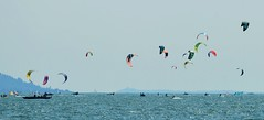 Garda Lake - Kiteboarders (cnmark) Tags: italy italia portoditremosine gardasee lake garda lagodigarda bènaco kiteboarder kitesurfer lenkdrachensegler sport watersport wassersport action colourful colorful lago view aussicht ©allrightsreserved