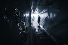 A Way Out - Kaunertaler Gletscher, Austria (Sebastian Bayer) Tags: perspektive kaunertal wasser person ausflug alpen metall tiefenschärfe attraktion eis mensch silhouette ring weg öse pfad gletscher gletschereis gefroren tiefe