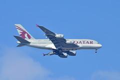 A7-APA Qatar Airways Airbus A380-800 (czerwonyr) Tags: