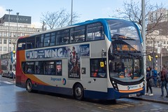 Stagecoach SN65NZG (Mike McNiven) Tags: stagecoach manchester alexanderdennis enviro400 mmc leigh busstation piccadilly piccadillygardens gardens