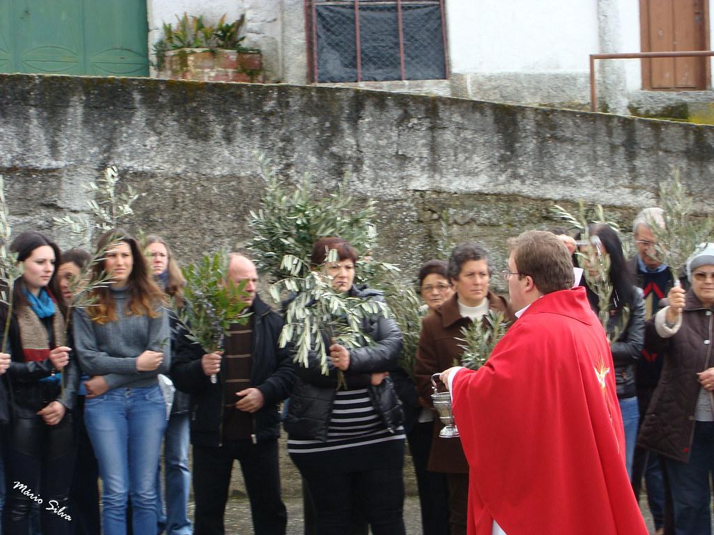 Águas Frias (Chaves) - ... benção dos Ramos (2013) ...