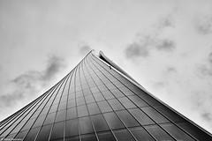 Mailand Torre Generali b&w (rainerneumann831) Tags: torregenerali architektur bw blackandwhite ©rainerneumann mailand milano hochhaus gebäude skulptur