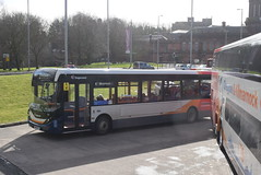 SW 37484 @ Kilmarnock bus station (ianjpoole) Tags: stagecoach western alexander dennis enviro 200mmc yw68oyc 37484 working route 3 hareshaw drive onthank sunnyside road shortlees