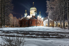 Temple (gubanov77) Tags: temple church monastery night winter december architecture vvedenskymonastery vvedensky pokrov longexposure russia