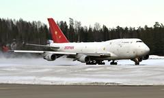 Air Cargo Global OM-ACG, OSL ENGM Gardermoen (Inger Bjørndal Foss) Tags: omacg aircargoglobal boeing 747 cargo osl engm gardermoen