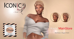 Kayla Saturday Sale! (Neveah Niu /The ICONIC Owner) Tags: saturday sale kalya iconic neveahniu short pixie multistyler meshhair