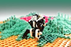 WD-06 (Devid VII) Tags: periphery mech devid vii moc drone lego diorama scene post apoc drones military mecha war troopers crew wars trooper detail details rebel soldier out district white hostile environment for humans
