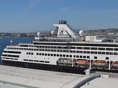 Ruby Princess - Sea of Cortez Cruise (Jasperdo) Tags: rubyprincess princesscruiseline cruise cruising sandiego california hollandamerica maasdam cruiseship