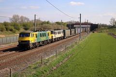 90045 90047 4S44 Winwick (cmc_1987) Tags: 90045 90047 4s44 coatbridgeflt daventry freightliner geneseewyoming doubleheader brel br britishrail railfreight intermodal winwick cheshire wcml