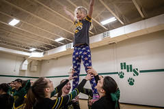 Once and Future Cheerleaders (Phil Roeder) Tags: desmoines iowa desmoinespublicschools hooverhighschool cheerleader cheerleaders cheerleading canon6d canonef24105mmf4lisusm