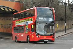 SN18 KMU (EH276) Go-Ahead London Central (hotspur_star) Tags: londontransport londonbuses londonbus londonbuses2019 alexanderdennisltd enviro400hmmc tfl transportforlondon hybridbus hybridtechnology busscene2019 doubledeck goaheadlondoncentral sn18kmu eh276 321