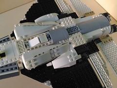 Lego Jet Fighter AFJ-S4 Arkangel (11) (Parm Brick) Tags: lego legojetfighter stealthjet military aviation militaryaviation moc mod afol legobrick vehicle minifigure pilot jet fighter stealth modern warfare battlefield air combat aircraft
