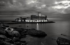 Le Castella Kr Italy (Arcieri Saverio) Tags: italia italy calabria crotone kr castello castelli castle lecastella biancoenero black nikon paesaggio landescapes