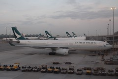 Cathay Pacific (So Cal Metro) Tags: airline airliner airplane aircraft plane jet aviation airport hongkong hkg cathaypacific airbus a330