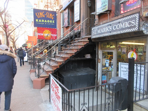 2019 St Mark's Comic Shop Closing Feb 24th NYC 1670