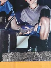 Dortmund (heleconia) Tags: dortmund veränderung vorort plakat plakatwand urban vertikal fotografie farbbild werbung
