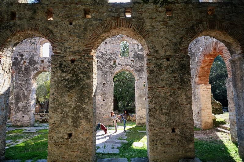 Butrint, Albania to Igoumenitsa, Greece.