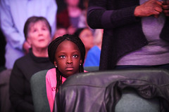 Bright Eyes (Anthony Mark Images) Tags: littlegirl prettyeyes church singing wrw2019 waterlooregionalworship braidedhair pinktshirt child female people portrait brighteyes watching observing koinoniafellowship bloomingdale ontario canada nikon d850 beautiful