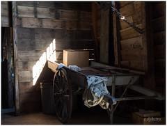 Interior paper mill.