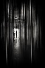 Alone (Daz Smith) Tags: dazsmith fujifilmxt3 xt3 fuji bath city streetphotography people candid portrait citylife thecity urban streets uk monochrome blancoynegro blackandwhite mono silhouette man blur blurred alone