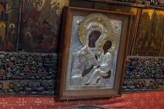 Church of the nativity Bethlehem-1462 (toniertl) Tags: bethlehem churchofthenativity israel2017 toniphotoxoncouk ancient icons westbank palestine christian faith religion worship art adoration orthodox catholic armenian shared birth jesus legend black madonna