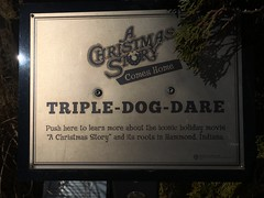 triple dog dare (timp37) Tags: sign christmas story march 2019 indiana welcome center xmas flick triple dog dare hammond