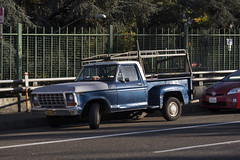 Ford (Curtis Gregory Perry) Tags: portland oregon ford truck pickup stepwise blue 1973 1974 1975 1976 1977 short bed vehicle classic downtown pdx nikon d810