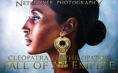 Egyptian Filmcover (NetRunner Photography) Tags: egyptian cleopatra egypt curse empire artwork pharao movie film history documentation