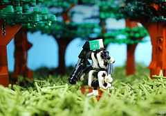 WD-05 (Devid VII) Tags: periphery mech devid vii moc drone lego diorama scene post apoc drones military mecha war troopers crew wars trooper detail details rebel soldier out district white forest patrol