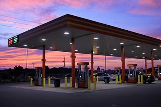 Payless Gas Station No3 Sunset
